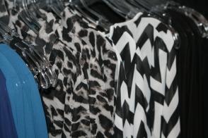 animial print blouses